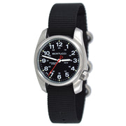 #10004 A-1S Field™ - Black Dial, Black Nylon Band