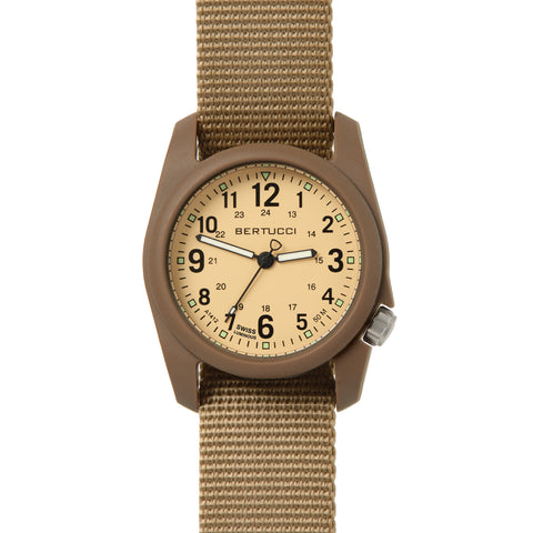 #11021 DX3® Field™ - Patrol Khaki™ Dial, Coyote Nylon Band