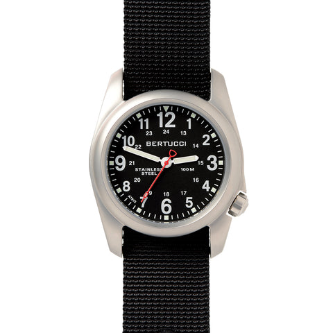 #11050 A-2S Field - Black dial, Black Nylon Band