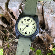 #11093 DX3® Canvas™ - Saguaro Dial, Evergreen Comfort Canvas™ Band