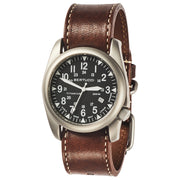 #13479 A-4T Super Yankee Black - Nut Brown Horween® Heritage Leather Band + Free Band & Shipping