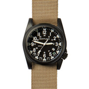 #13552 A-5S Ballista Illuminated Black - Defender Khaki Nylon Band