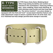 #13372 Gamekeeper - Dirt Dial / Moss Case w/ Patrol Green Nylon Band