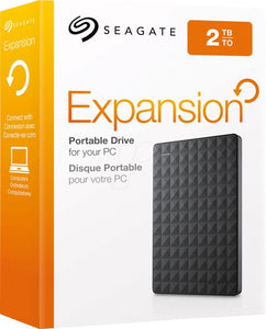 "Seagate Expansion 2TB 2.5"" Portable Hard Drive"
