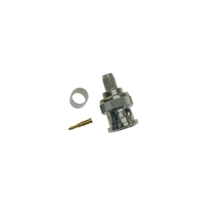 BNC - Crimp Plug 6mm Male