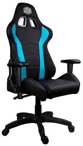 Cooler Master CMI-GCR1-2019B Caliber R1 Ergonomic Black & Blue Gaming Chair