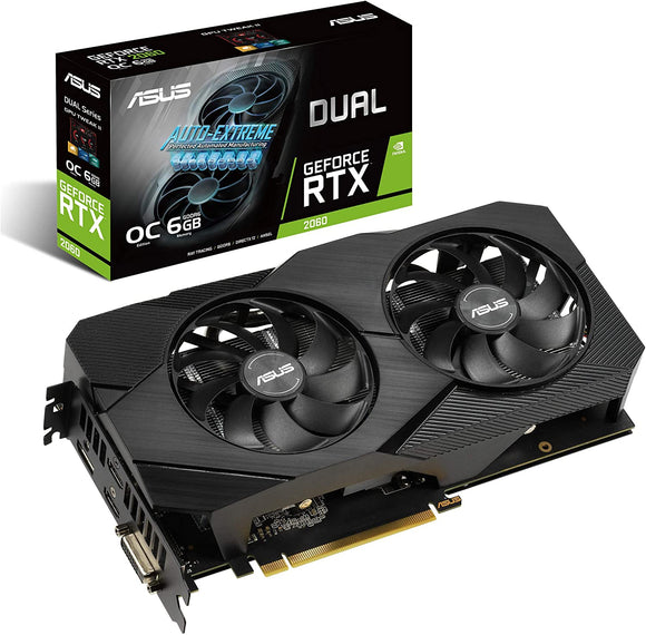 Asus Dual RTX2060 Evo Graphics Card