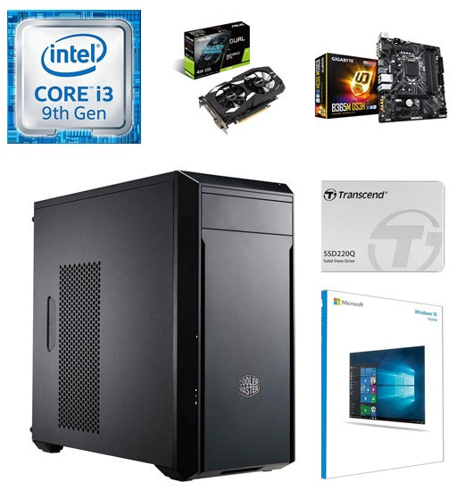 IOS Core i3 Gaming PC