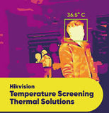 Hikvision Face Recognition Terminal with Temperature Screening