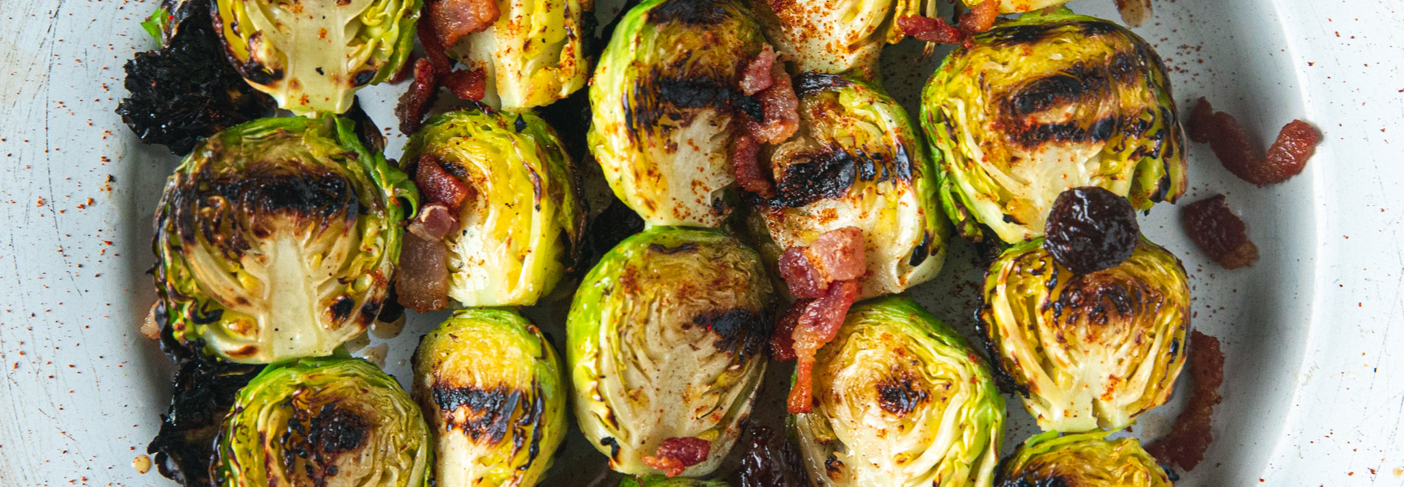 Brussel Sprout Skewers