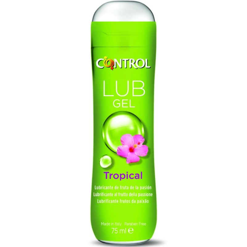 Gel Lubricante Tropical Base Agua  Lub 75 MlCONTROL