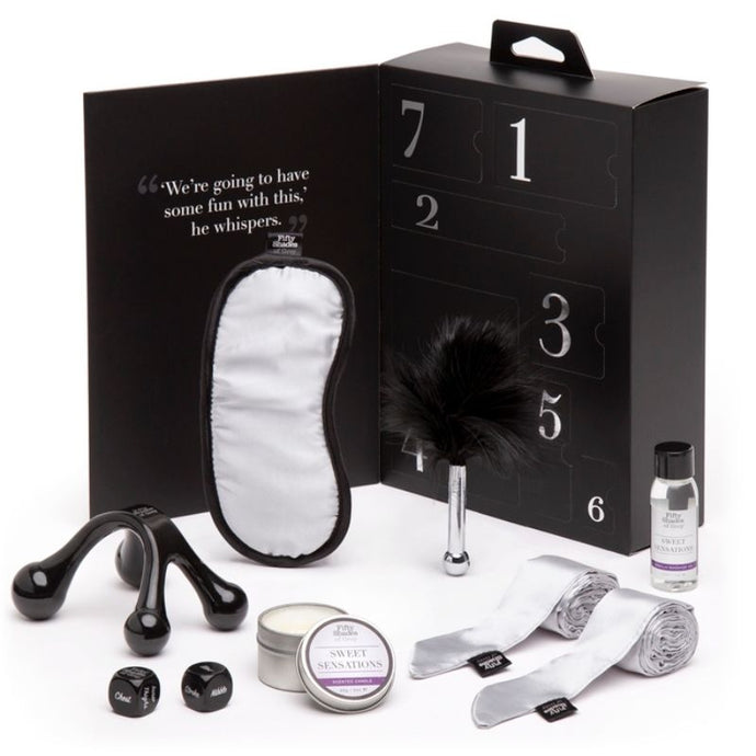 FIFTY SHADES OF GREY KIT DULCES SENSACIONES PLEASURE OVERLOAD FIFTY SHADES OF GREY TOYS