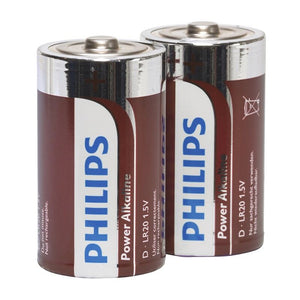 Philips Power Alkaline Pila D Lr20 Blister*2