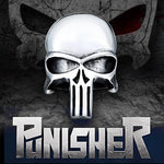 bague tete de mort punisher