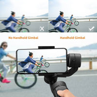 Gimbal Stabilizer for Smart Phone & Action Camera