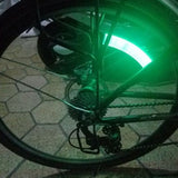 Waterproof And Shockproof LED Bicycle Wheel Light Tire Valve Cap Light Mountain Bike Motorcycle Car