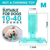 Pet Dog Toothbrush Chew Toy Doggy Brush Stick Soft Rubber Teeth Cleaning Dot Massage Toothpaste for Small dogs Pets Toothbrushes