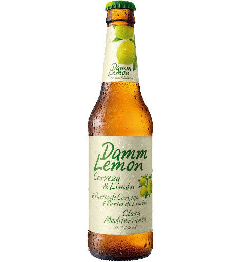 Damm Lemon Beer - 330ml x 24 - Bodega Movil