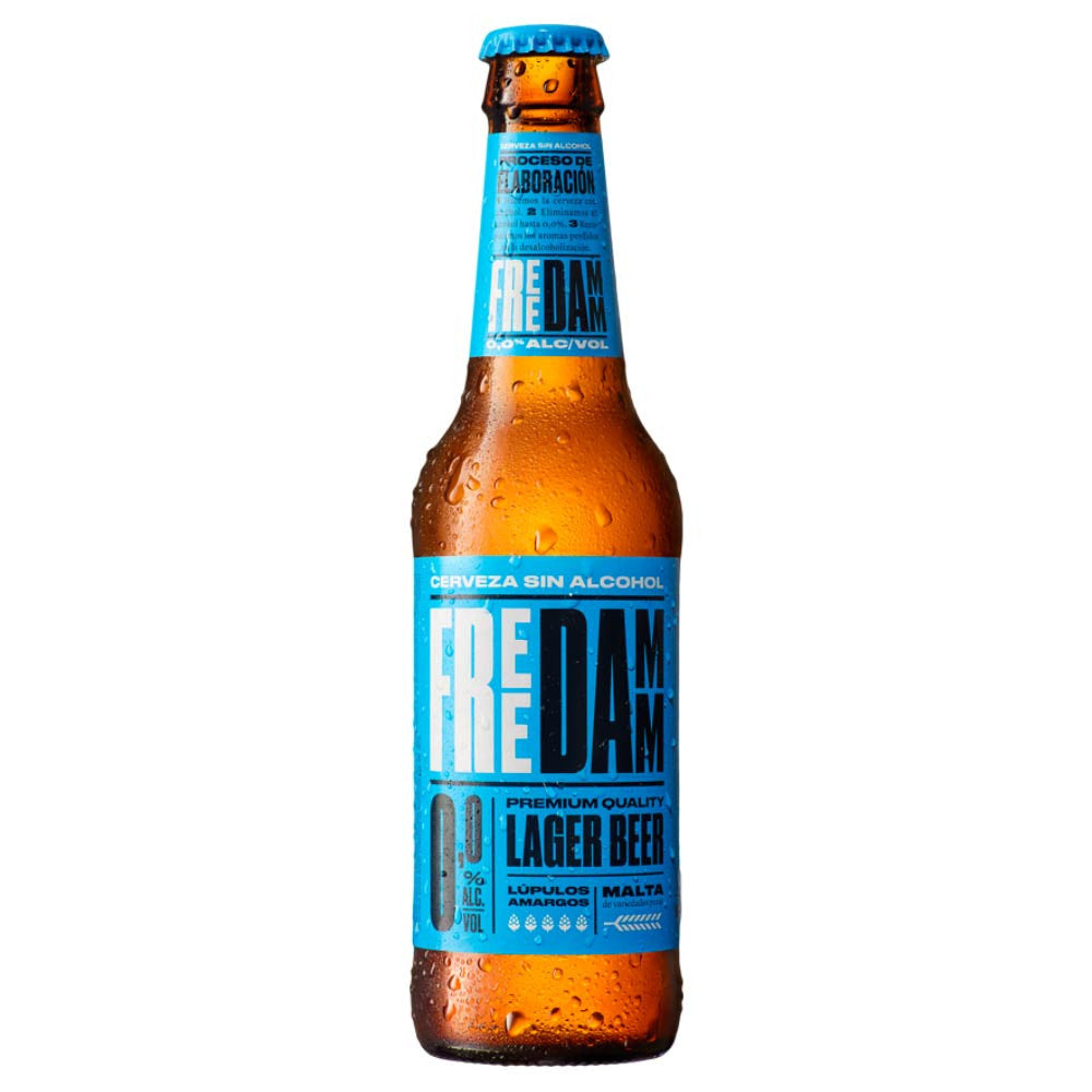 Free Damm Beer non-alcoholic 4x250ml - Bodega Movil