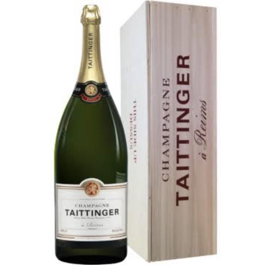 Taittinger Mehtuselah Brut Reserve Champagne in Gift Box - Bodega Movil