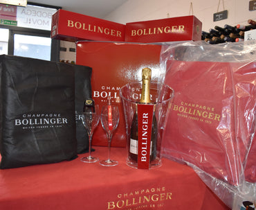 Bollinger Deluxe Special Cuvee Limited Edition Gift Set - Bodega Movil