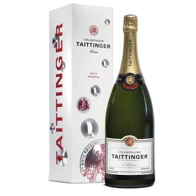 Taittinger Magnum Brut Reserve Champagne in Gift Box - Bodega Movil