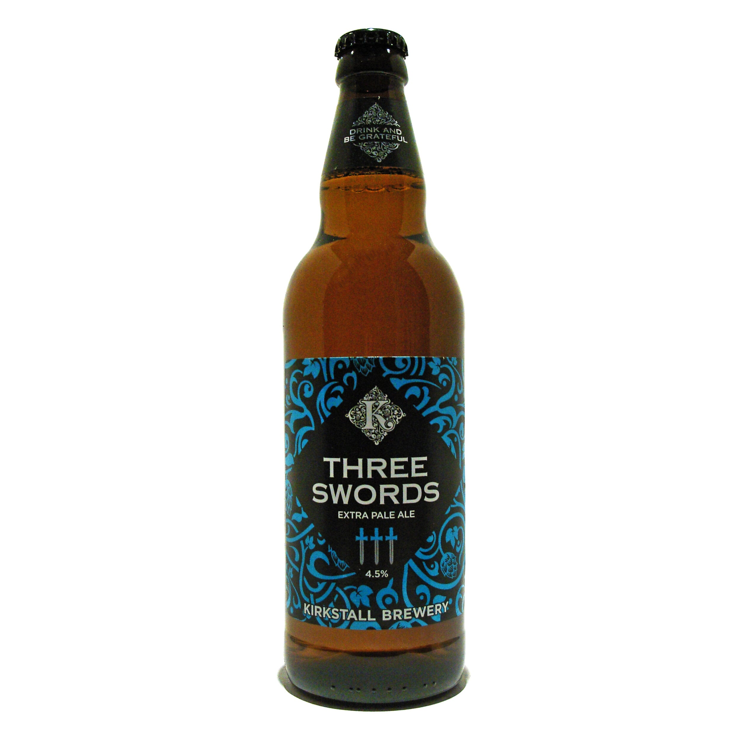 Three Swords Extra Pale Ale 4.5% ABV (8 x 500ml) - Bodega Movil