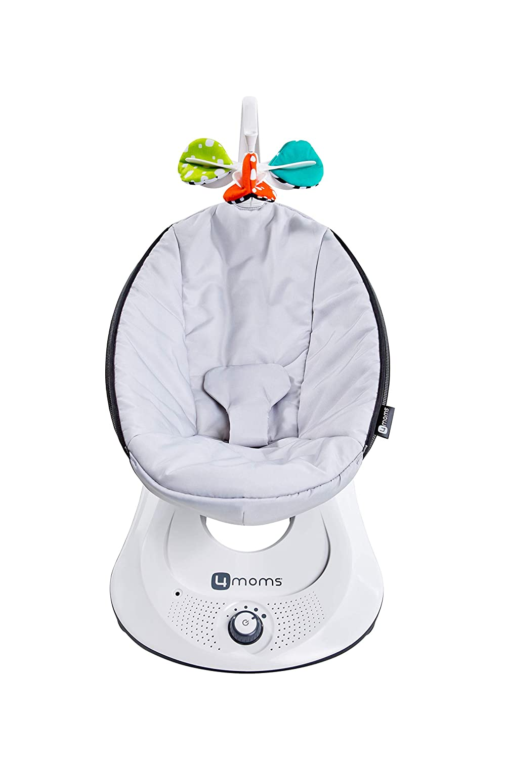 Amazon.com : 4moms rockaRoo Baby Swing, Compact Baby Rocker with Front to  Back Gliding Motion, Smooth, Nylon Fabric, Grey Classic : Baby