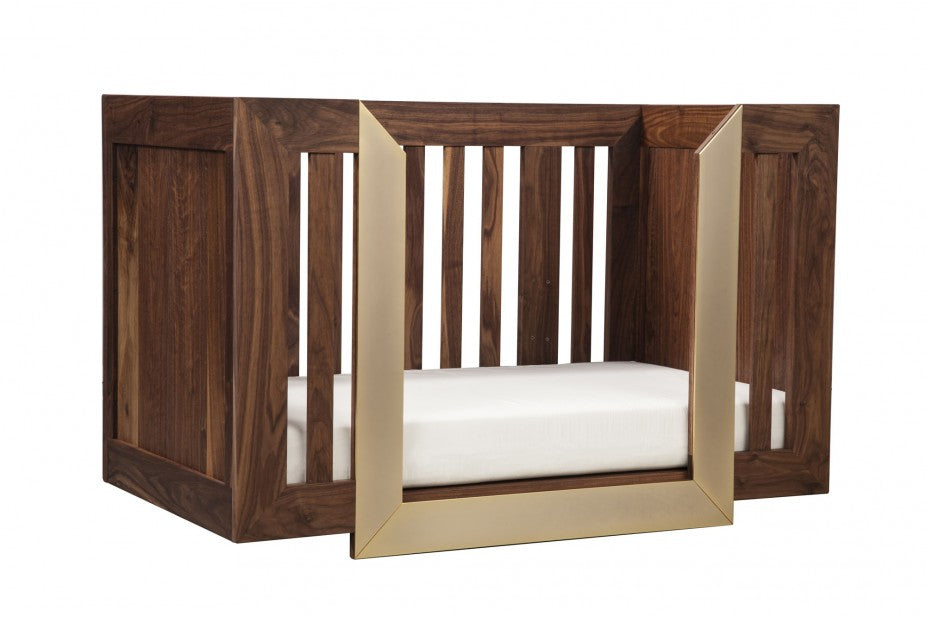 8. Halo Crib with mattress daybed angle view_L_3