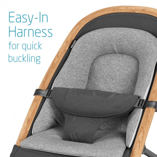 Easy-In Harness for quick buckling.