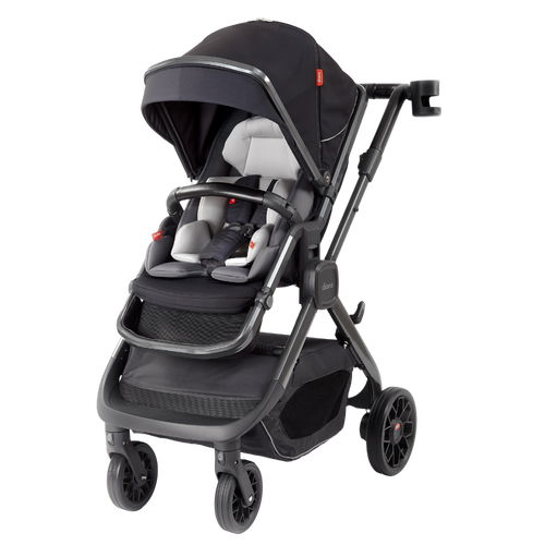 Quantum 2 Stroller, 3-in-1 Multi-mode stroller and travel system suitable from birth <Black Cube>