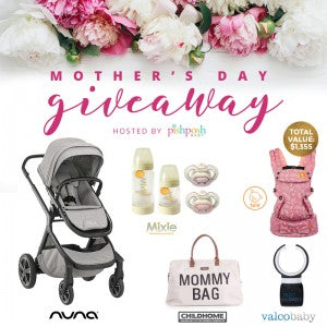 mothers day giveaway 2019 white bag