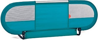 Side Babyhome Bed Rail Turquoise