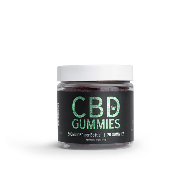 CB-Delicious Organic Gummies- Mixed Berry - Dopemary