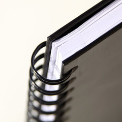 Whitelines Hard Wire Notebook