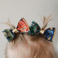 Harry Potter Pig Tail Bow Set - Clara Beaus Co