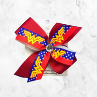 Wonder Woman Girls Hair Bow