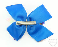 Back to School Artist Hair Bow - Clara Beaus Co