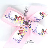 Disney Princess Hair Bow - Clara Beaus Co