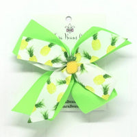 Pineapple Hair Bow - Clara Beaus Co