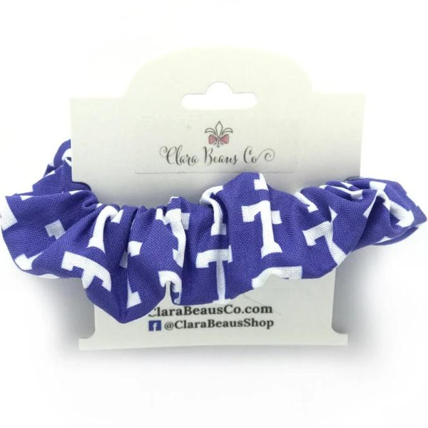 Trinity School District logo scrunchies - Clara Beaus Co