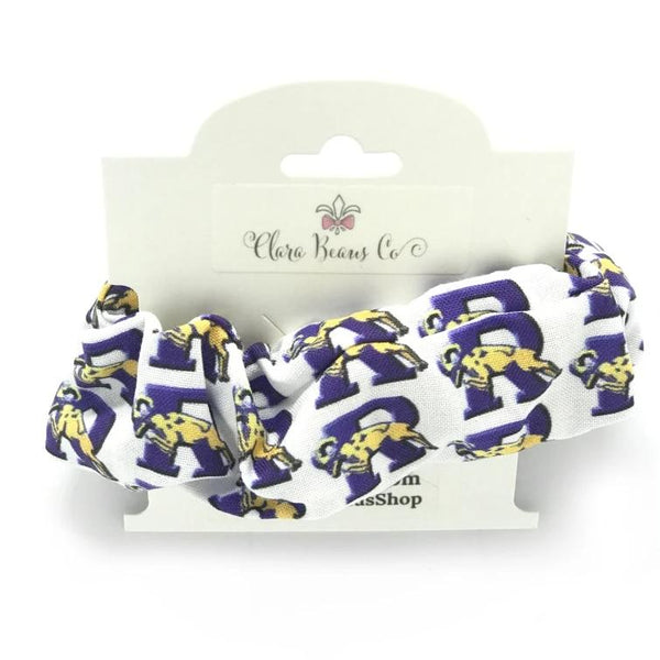 Ringgold logo scrunchies - Clara Beaus Co