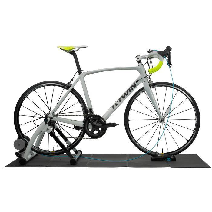 Accessoire vélo reconditionné - TAPIS DE PROTECTION HOME TRAINER B'TWIN - Decathlon Seconde Vie