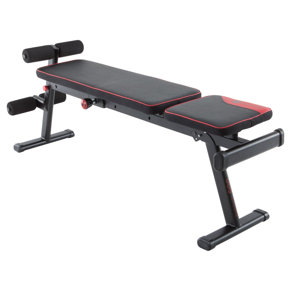 Banc de musculation reconditionné - BANC DE MUSCULATION 500 PLIABLE ET INCLINABLE - Decathlon Seconde Vie