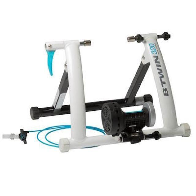 Home trainer reconditionné - Home trainer 320 CONNECT BLANC - Decathlon Seconde Vie