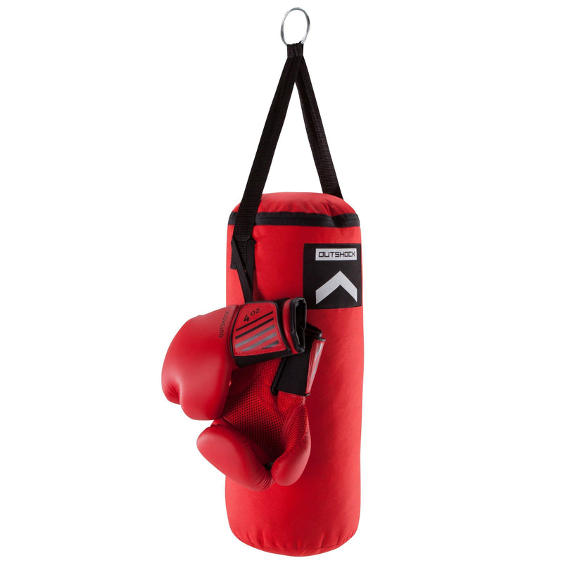 KIT BOXE ENFANT / SAC + GANTS reconditionné - Decathlon Seconde Vie