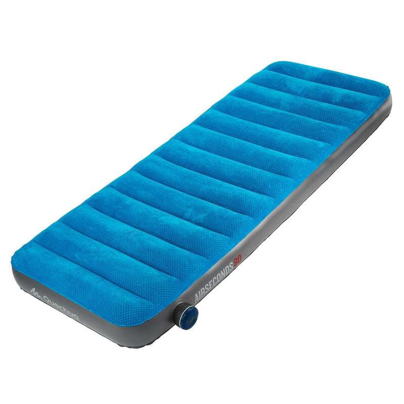 Matelas gonflable reconditionné - MATELAS GONFLABLE DE CAMPING - AIR SECONDS 80 CM - 1 PERSONNE - Decathlon Seconde Vie
