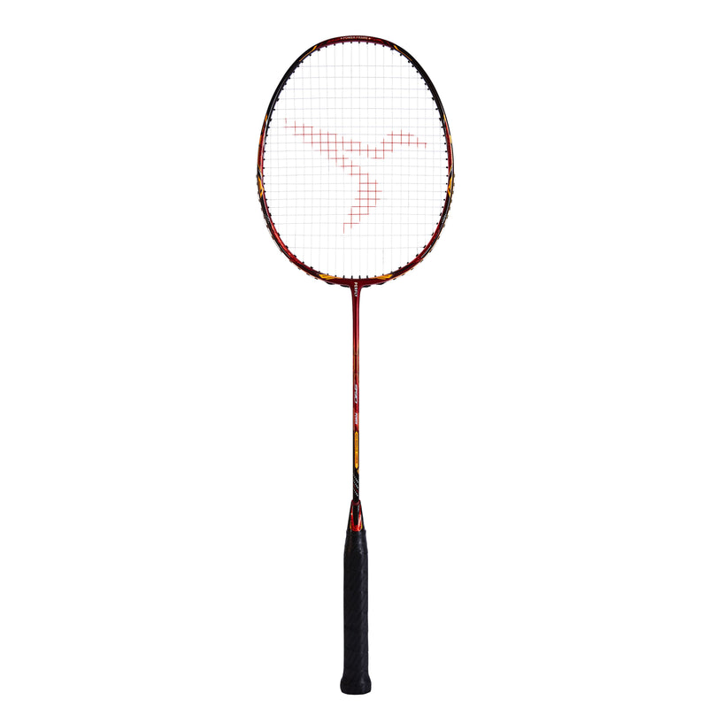 Raquette de badminton adulte reconditionnée - BR 990 P - ROUGE/ORANGE - Decathlon Seconde Vie