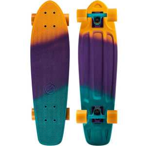 Skate reconditionné - CRUISER BIG YAMBA GRADIANT CORAIL BLEU