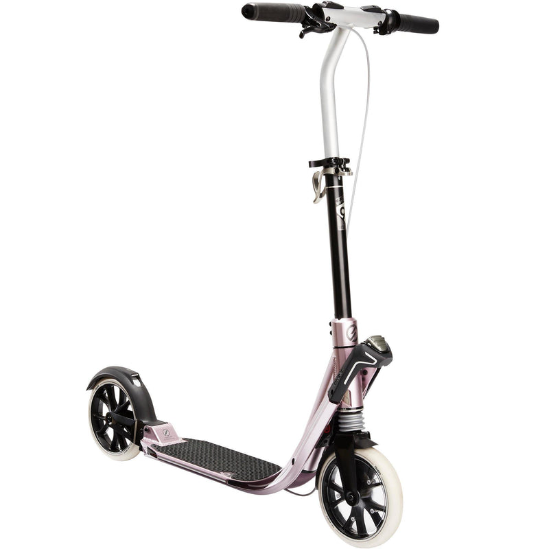 Trottinette adulte reconditionnée - TROTTINETTE ADULTE TOWN 9 EF V2 ROSE METAL - Decathlon Seconde Vie : articles de sport reconditionnés